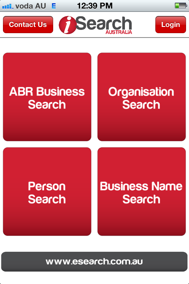 eSearch Pty Ltd - iSearch Home Page